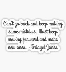 Bridget Jones Sticker