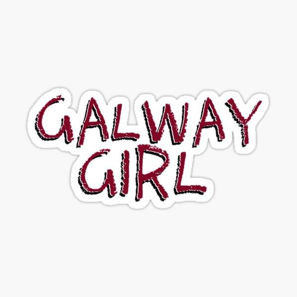 Galway Girl Sticker
