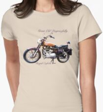 Royal Enfield - Grow Old Disgracefully Women's Fitted T-Shirt