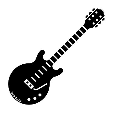Electric Guitar (Solidbody Guitar / Rock Music / Black) by MrFaulbaum