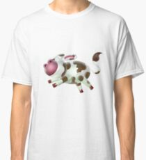 Happy jumping cow Classic T-Shirt