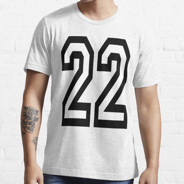 NUMBER 22. TEAM. SPORTS. TWENTY TWO. Twenty Second. 22nd. Competition. Essential T-Shirt