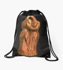 Lovers in the stars Drawstring Bag