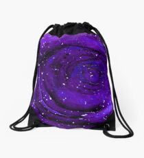 Lost In Space & Time Drawstring Bag