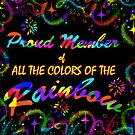 All The Colors of The Rainbow Member Banner by TLCGraphics