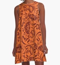 Virginia - Floral A-Line Dress