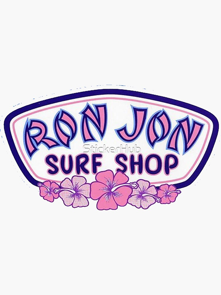 Ron Jon Hawaii de StickerHub