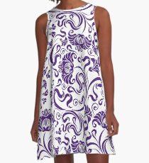 Texas - Floral A-Line Dress