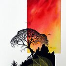 In silhouette by Robert David Gellion