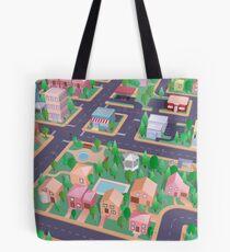 Vector City Tote Bag