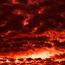 Sky of reddish orange by jammingene