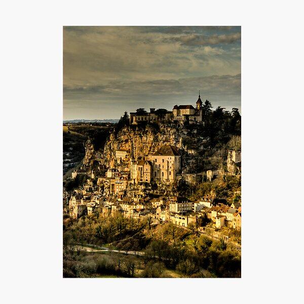 Rocamadour Photographic Print