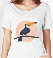 Tropical Toucan Relaxed Fit T-Shirt