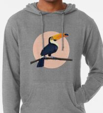 Tropical Toucan Lightweight Hoodie