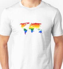 Global Gay Pride Unisex T-Shirt