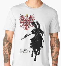 The Polish Hussar Men's Premium T-Shirt