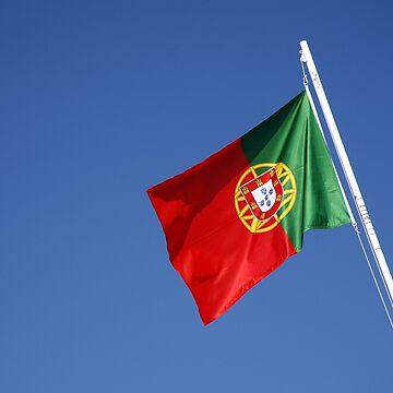 Portuguese national flag by gavila