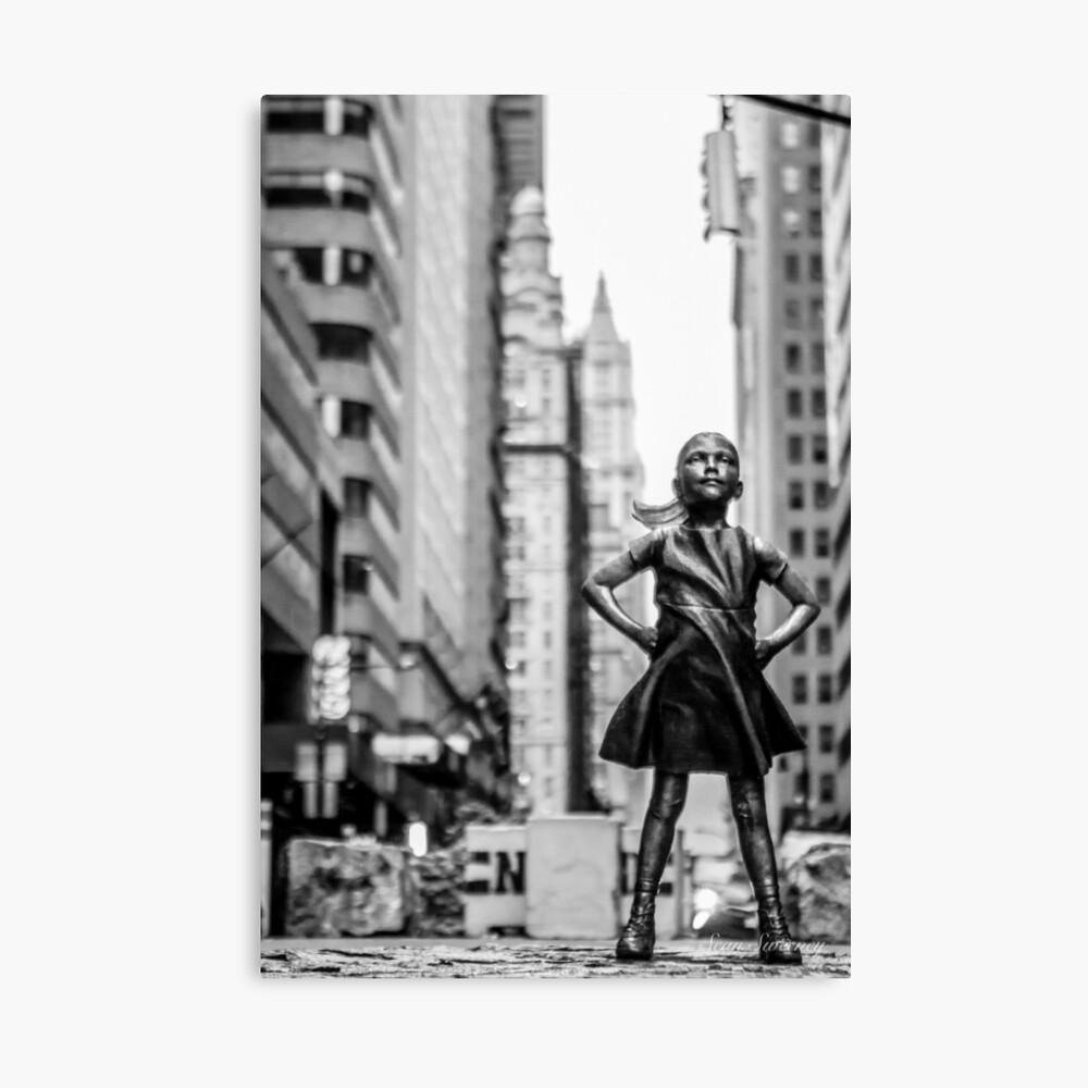 Fearless Girl  New York City Canvas Print