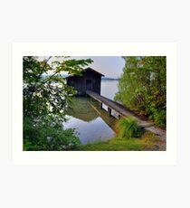 Water Barn (HDR) Art Print