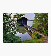 Water Barn (HDR) Photographic Print