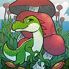 Yoshi of the Mushroom Kingdom by etall