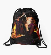 The Suicide of Dido Drawstring Bag