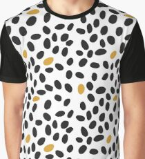 black and mustard spots Graphic T-Shirt