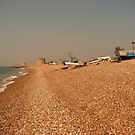 Hythe the fisherman's beach by Beatrice Cloake