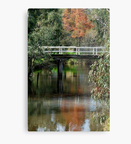 Old Cart Bridge,Seven Creeks, Euroa Metal Print