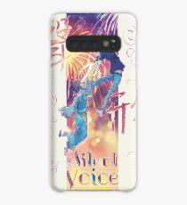A Silent Voice - Koe no Katachi poster Case/Skin for Samsung Galaxy