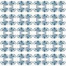 Goldfish pattern 1 by Sally Barnett
