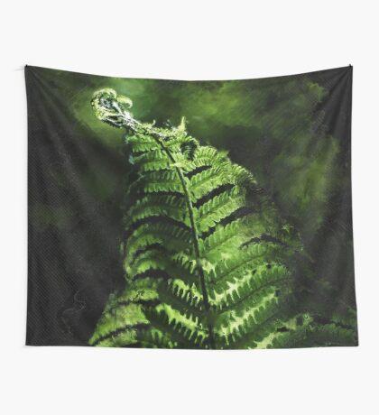 Fern #fern #botanical Wall Tapestry