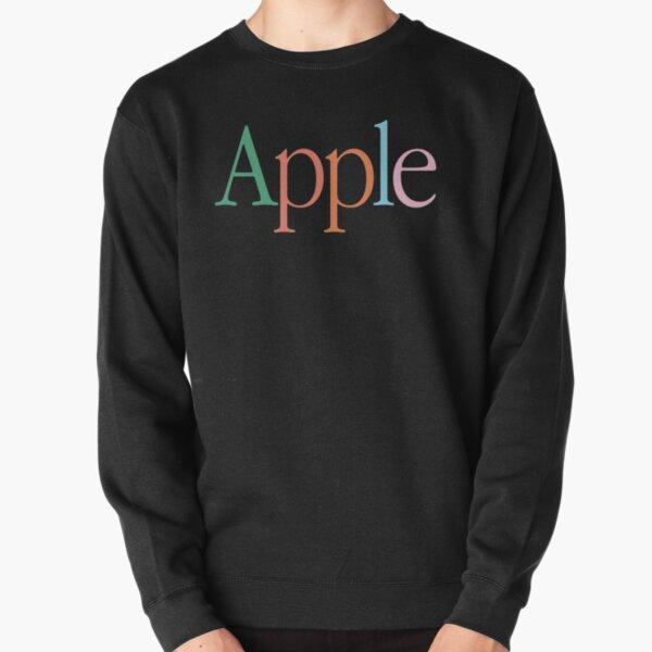 Vintage Apple Logo Sudadera sin capucha