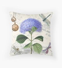 Vintage Dragonflies | The Purple Trend | Vintage Shabby Chic Floor Pillow