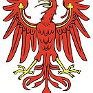 Brandenburg Red Eagle coat of arms by edsimoneit