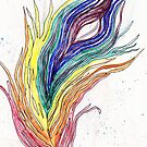 Chakra Feather  by Deb Coats