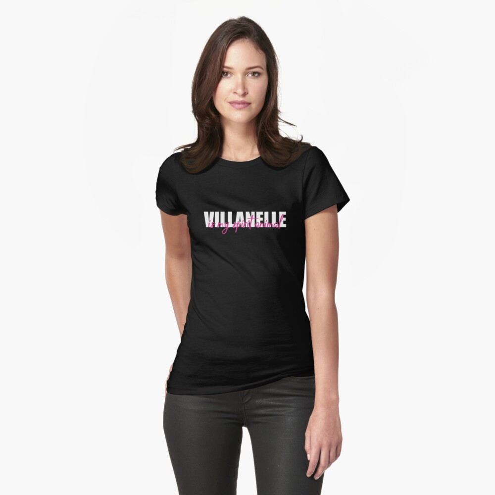VILLANELLE Fitted T-Shirt