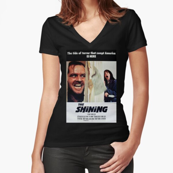 The Shining Fitted V-Neck T-Shirt