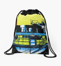 Chem Plant Drawstring Bag