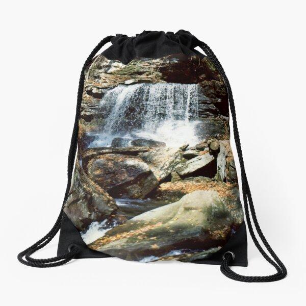 B. Reynolds Falls In Ricketts Glen circa 1979 Drawstring Bag