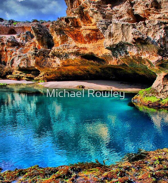Blue Lagoon by Michael Rowley