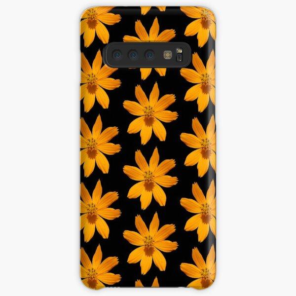 zauberhafte Blume, Blüte, Sommer, Sonne, orange Samsung Galaxy Leichte Hülle