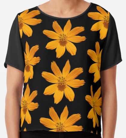 zauberhafte Blume, Blüte, Sommer, Sonne, orange Chiffontop
