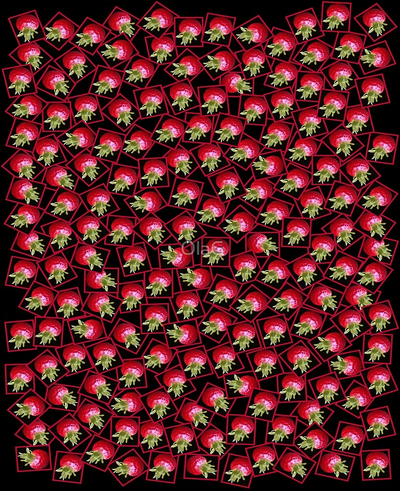 STRAWBERRIES _pattern by OlaG