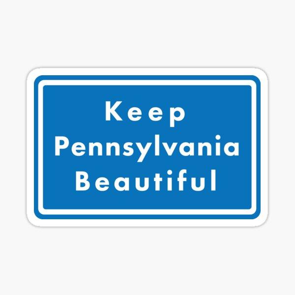 Keep Pennsylvania Beautiful Sticker