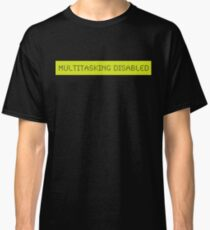 LCD: Multitasking Disabled Classic T-Shirt