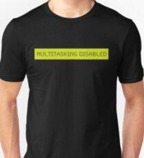 LCD: Multitasking Disabled Unisex T-Shirt