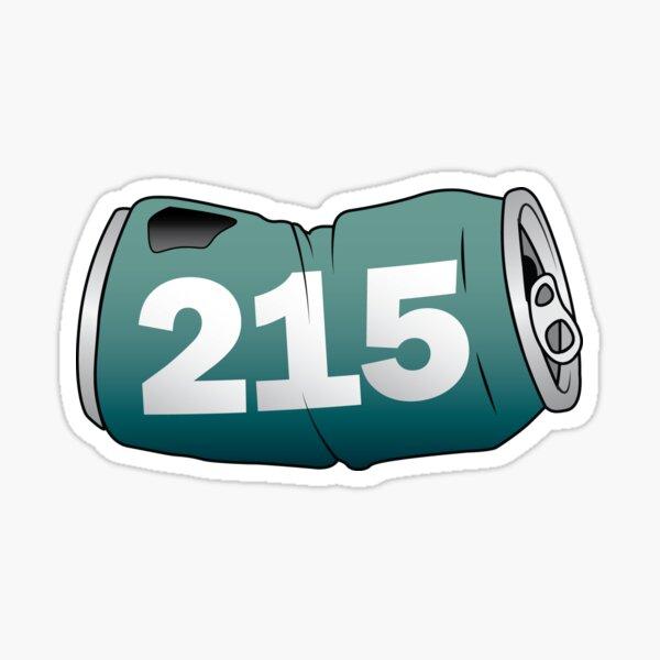 215 Can Sticker