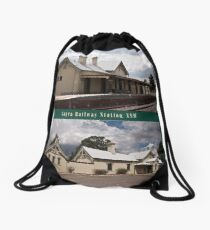 Uralla Railway Station, NSW (circa 1882) Drawstring Bag