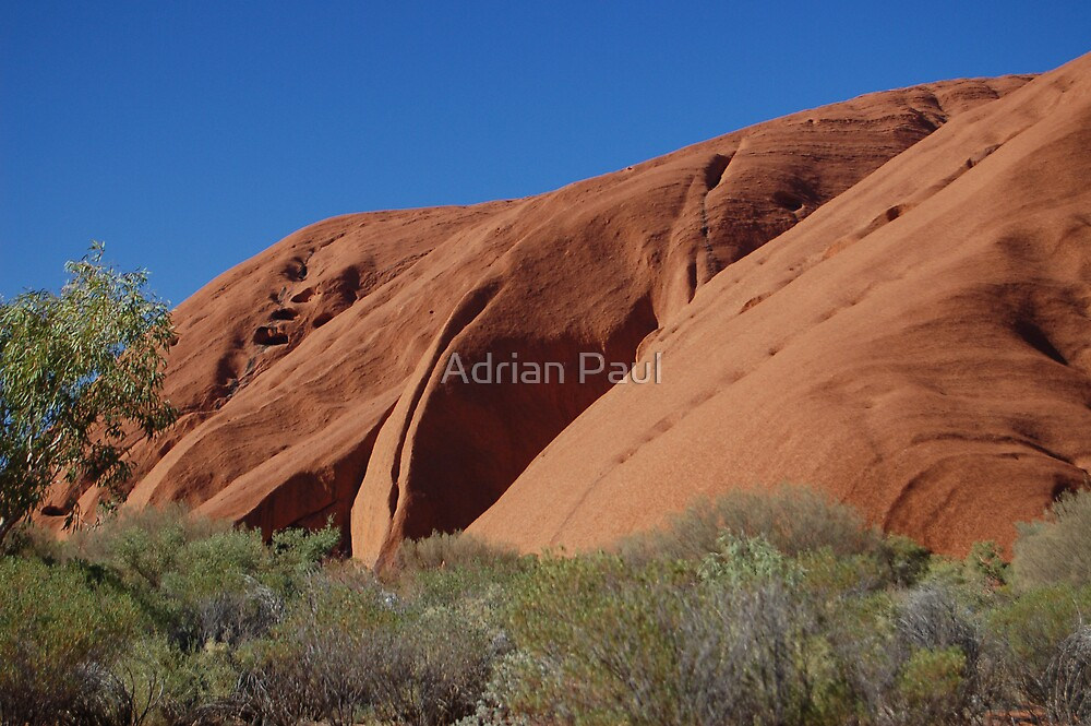 Uluru (Ayer's Rock), Northern Territory, Australia by Adrian Paul